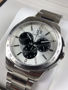 Maurice Lacroix — Miros Silver-Line Chronograph — MI1028 — Heren — 2011-heden