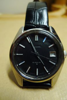 King seiko  - Mens Watch - case back date 1968