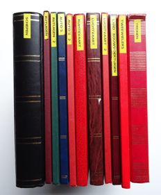 World - 8 topical collections in 11 stock books and various material in envelopes