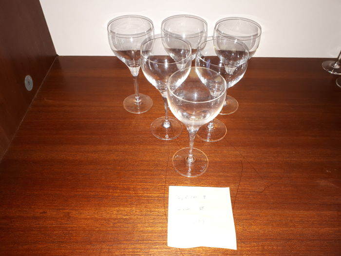 Rosenthal Crystal Studio Line 6 Glasses Catawiki