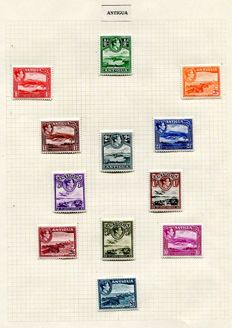 British Commonwealth George VIth - collection of 25 definitive sets.