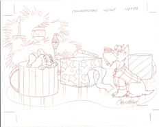 Cardona, Josep Maria - Original Production Drawing - Lady and the Tramp