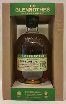 The Glenrothes American Oak - Vintage 1995 - Bottled in 2017 - Limited Edition