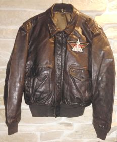 SCHOTT F-104 Starfighter, Top Gun leather pilot jacket, authentic item from '70s, made in USA, ULTRARARE!!!