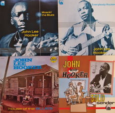 John Lee Hooker 5-LP Boxset With Record Covers & 2x Books + DVD