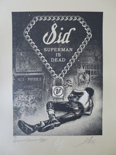 Shepard Fairey (OBEY) - Sid Superman is Dead