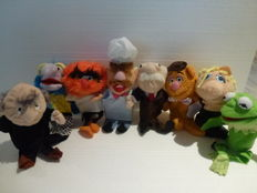 The Muppetshow - complete original series of 8 handpuppets - Jim Henson 2010