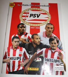 Panini - PSV 2007/2008 the official sticker collection - Complete album.