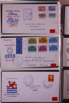 The Netherlands 1952/2006 - Collection of First Day Covers in 5 albums - NVPH E9/E545
