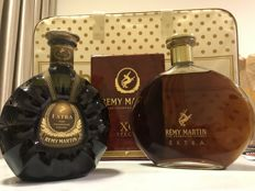 Rémy Martin 1980s Extra Fine Champagne Double Ribbons  and 1990s Extra Fine Champagne Cognac