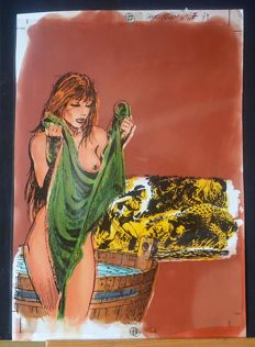 Zanotto, Juan - original cover for Lanciostory no. 47 (1979)