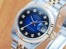 Rolex Gold & Stainless Steel Diamonds Automatic Women's Watch!