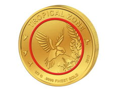 Chad - 3,000 francs - Hummingbird - Gold / gold coin - Tropical Zone - PP - Colour - Edition of only 15,000 pieces