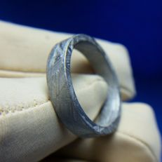 Seymchan Meteorite ring - 19.3 mm