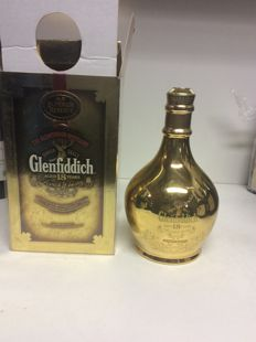 Glenfiddich Superior Reserve 18 years old - 23 carats Gold - OB