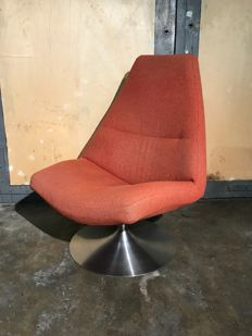 Designer unknown - swivel chair in space age style