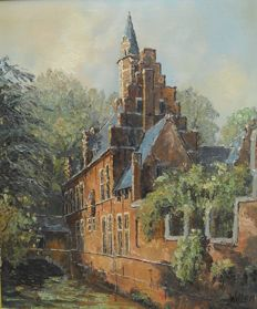 Willem (20th century) - Castle along a river