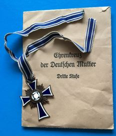 Cross of Honour of the German Mother in bronze - Donner Mint, Wuppertal