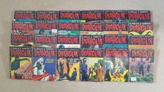 Collection Of Diabolik Books - x24SC - (1975/1979)