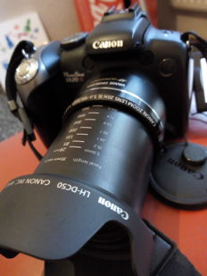 CANON Powershot SX20 IS in box complete 12.1MP 20X ZOOM