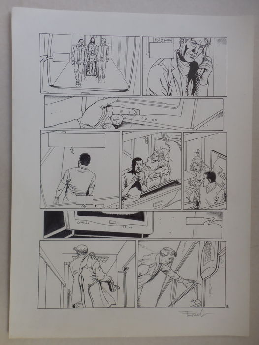 Ersel (Sels, Erwin) - Original page (p.33) - Disparitions