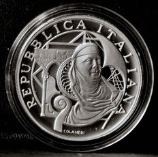 Italy - 10 Euro 2004 'Genoa Cultural Capital of Europe' - silver