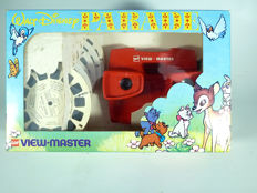 Walt Disney Parade, rare gift-set by View-Master with 6 reels