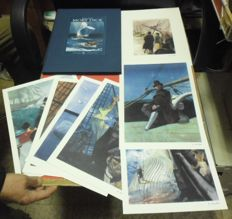 "Pinter, Ferenc - Portfolio luxury edition ""Moby Dick"", with 10x lithographs"