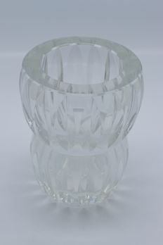 France - A Baccarat cut Crystal vase - half of the 20th century