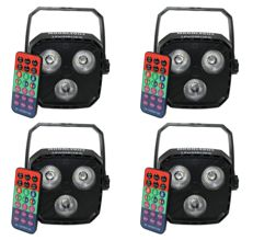 Set of 4x LED RGBW spots