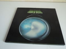 """Jazz Rock Lot with  British Prog Rock Giants : the Soft Machine """"Triple Echo"""", complete box with 3 albums in sturdy sleeves with original booklet all in excellent state"""