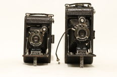 2x Kodak 1 and 1a Autographic jr