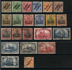 Compilation of German Colonies, Morocco, China, DSW, Mariana Islands
