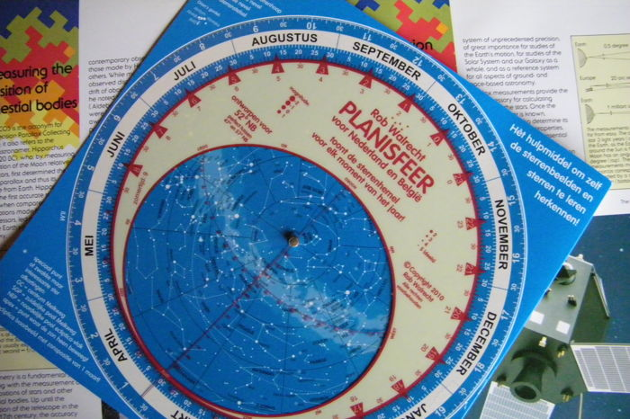 Rotating Star Chart Disc Hipparcos Satellite ESA Photo Catawiki - Star map now