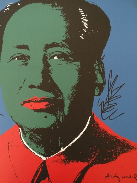 Mao - Lithograph By Andy Warhol (after) - Signed And Numbered