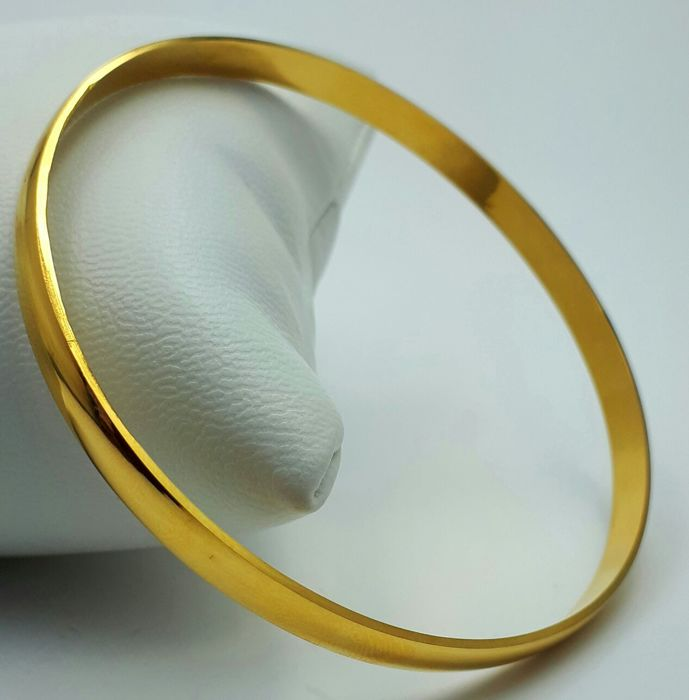 14/585 Ct yellow Gold ,  Diameter:6.5cm, Total weight:4.50g,*No reserve price*