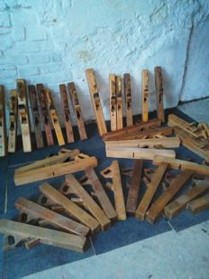 Jointer planes - Lot of 36 pieces - Belgium - 1950