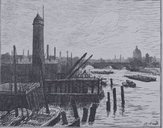 Maximilien Luce - London Docks