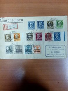 Germany 1900/1940 - batch of postal used letters, envelopes, cards
