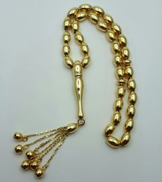 14 Ct Yellow Gold  Rosary, length 19.5, Total Weight 10.76g