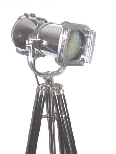 Strand Patt - 23 Film Spot Lamp - Vintage Theatre Light With Tripod