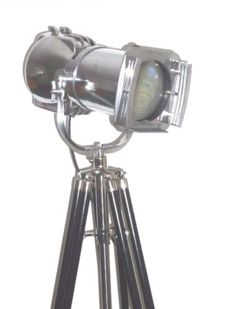 Strand Electric Spot Lamp - Vintage Film Light With Tripod