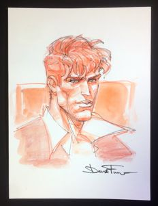 "Furnò, Davide - original illustration ""Dylan Dog"" (2010)"