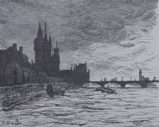 Maximilien Luce - London Parlement