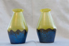 Loetz - Pair of vases