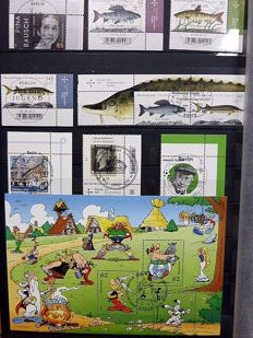 Germany, Federal Republic 1994/2015 - collection of first issue stamps Berlin