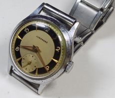 Junghans J93 Germany - Two Tone - Military - 1950's - Men's Wristwatch