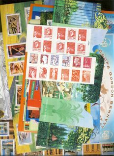 France 2000/2003 – Collection of souvenir sheets and booklets – Yvert between BF no. 29 and 111
