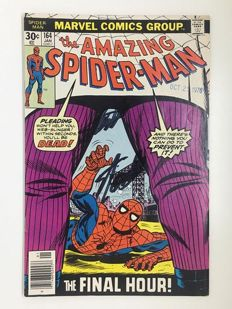 Amazing Spider-Man #164 Signed by Stan Lee
