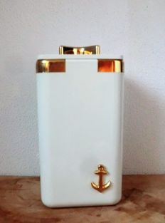 German Ice bucket holder with anchor decoration